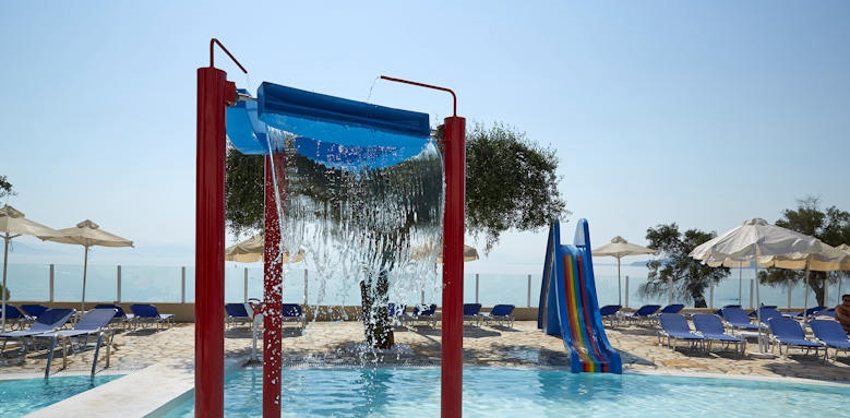 Marbella Corfu, kids pool