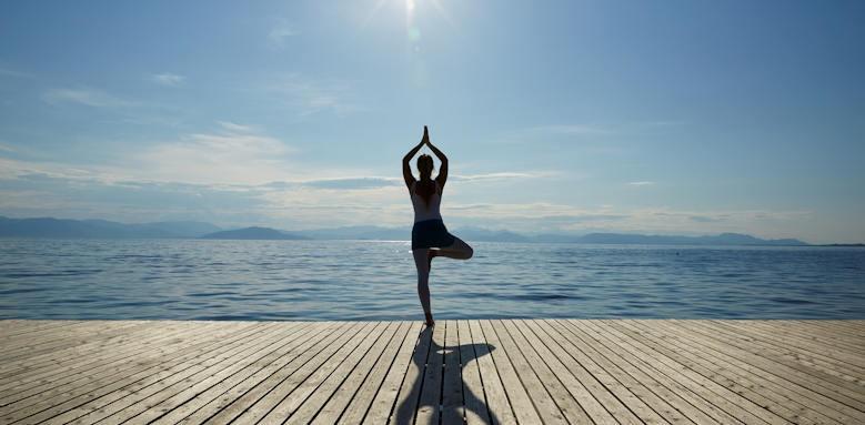Marbella Corfu, yoga