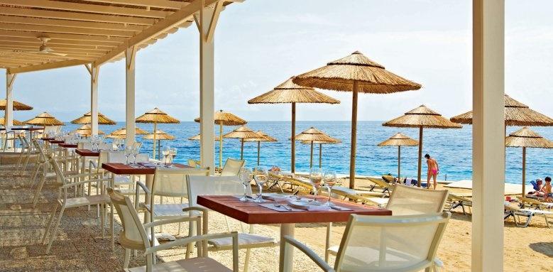 MarBella Corfu, Beach restaurant