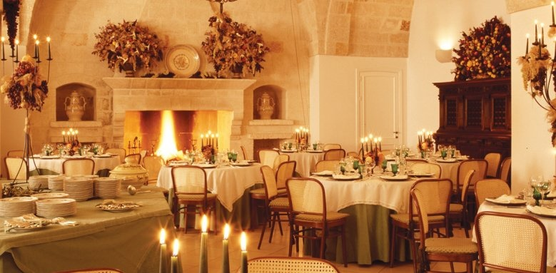 Masseria San Domenico, restaurant