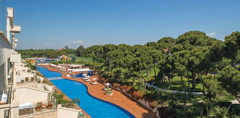 maxx royal belek, family terrace pool