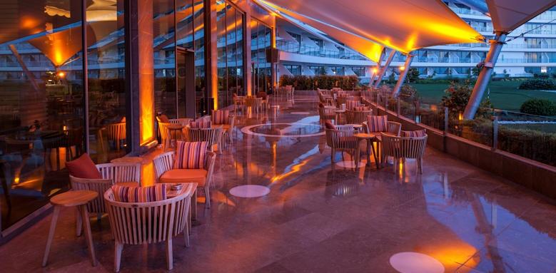Maxx Royal Belek Golf Resort, terrace