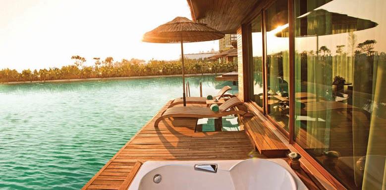 maxx royal belek, maldives villa