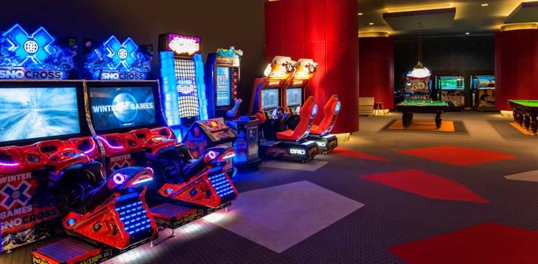 maxx royal belek, arcade
