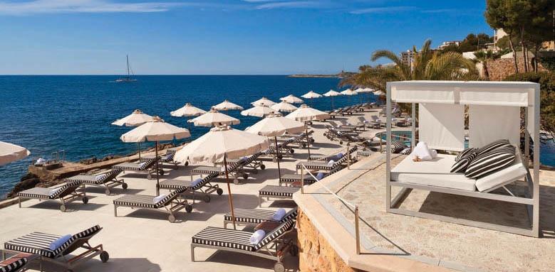 Gran Melia de Mar, terrace
