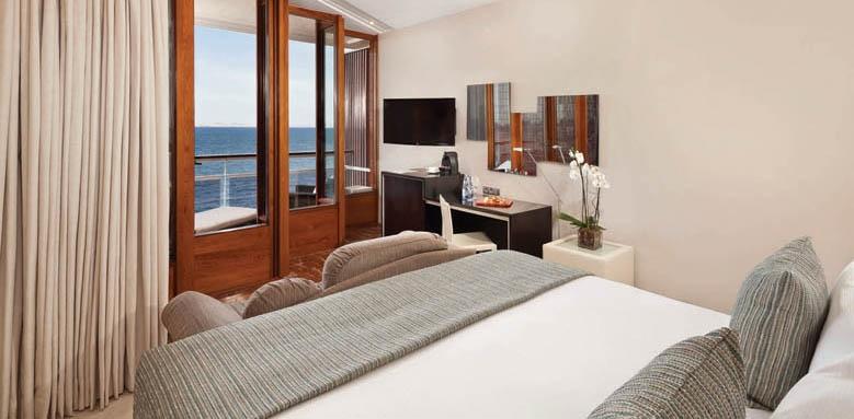 Gran Melia de Mar, deluxe sea view room
