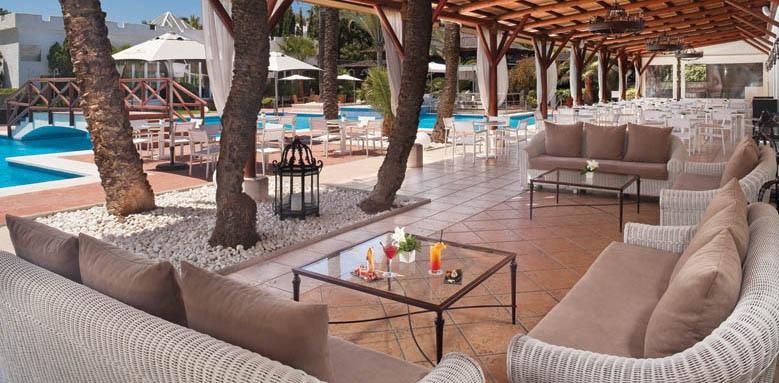 Melia Marbella Banus, lounge terrace