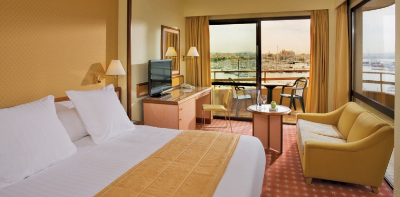 Melia Palas Atenea, standard double sea view room