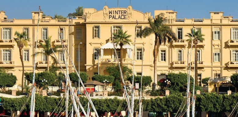 Sofitel Luxor Winter Palace, facade from river