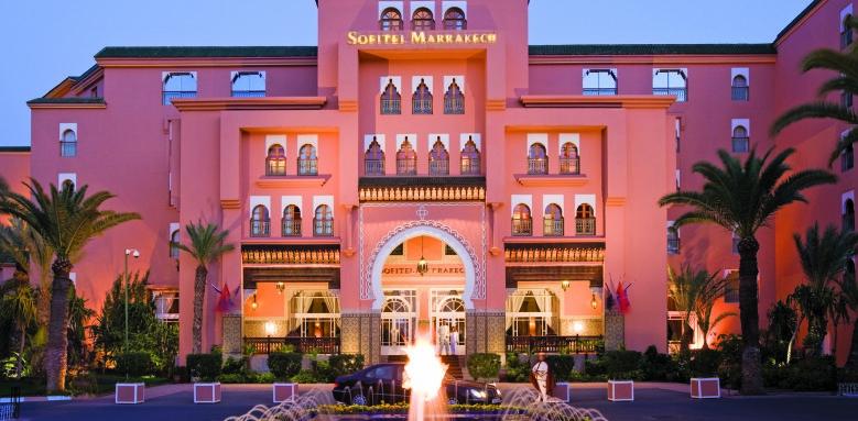 Sofitel Marrakech Palais Imperial, facade