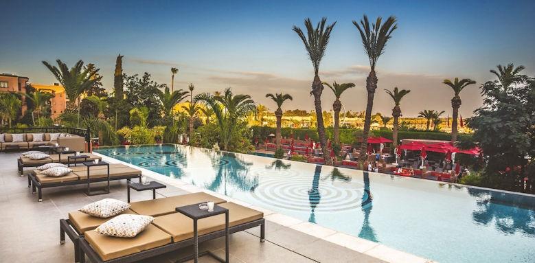 sofitel marrakech palais imperial, infinity pool