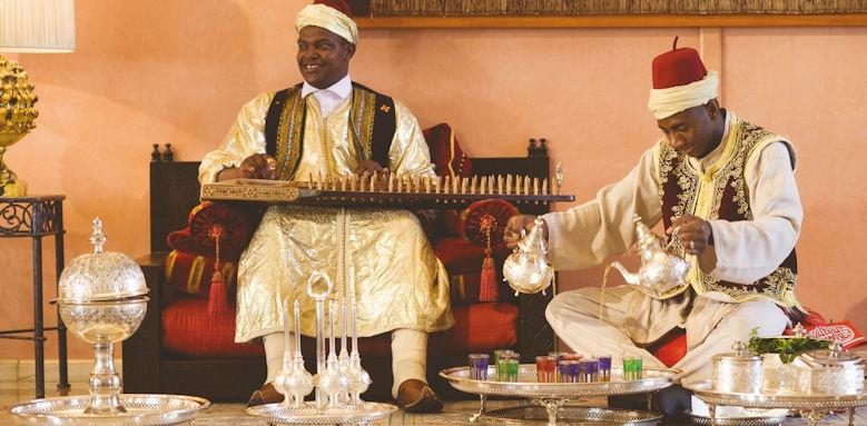 sofitel marrakech palais imperial, musicians