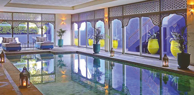 sofitel marrakech palais imperial, indoor pool