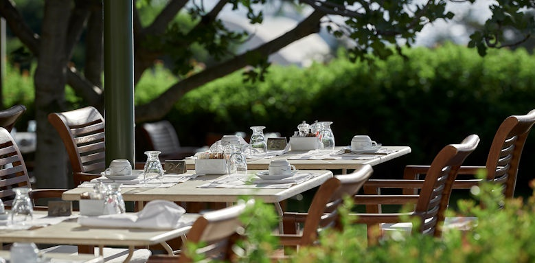 St Nicolas Bay, Breakfast Terrace