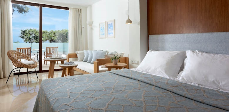 st nicolas bay, double room limited sea view
