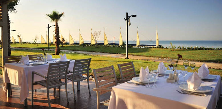 susesi resort, a la carte restaurant