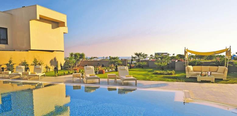susesi resort, villa garden