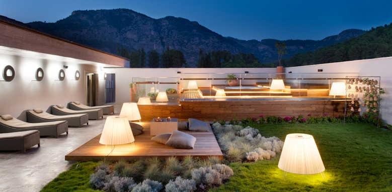 D Hotel Gocek, Spa terrace