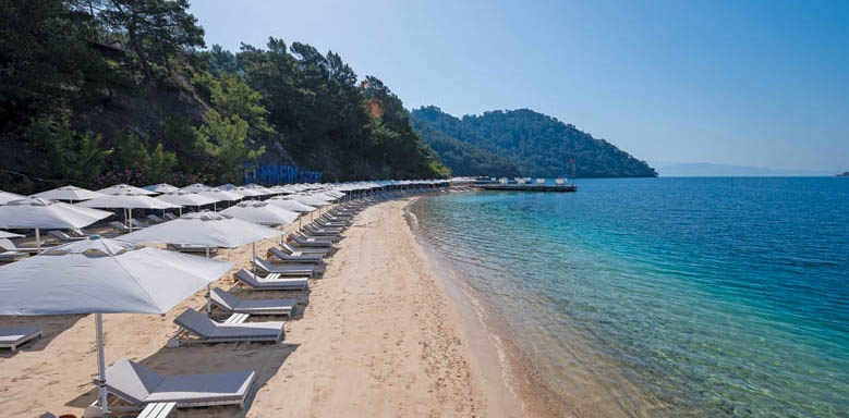 D-Resort Gocek, beach