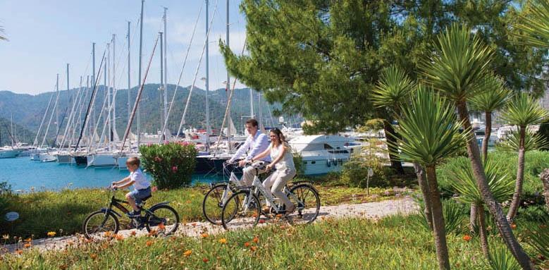 D-Resort Gocek, cycling