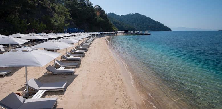 D-Resort Gocek, beach