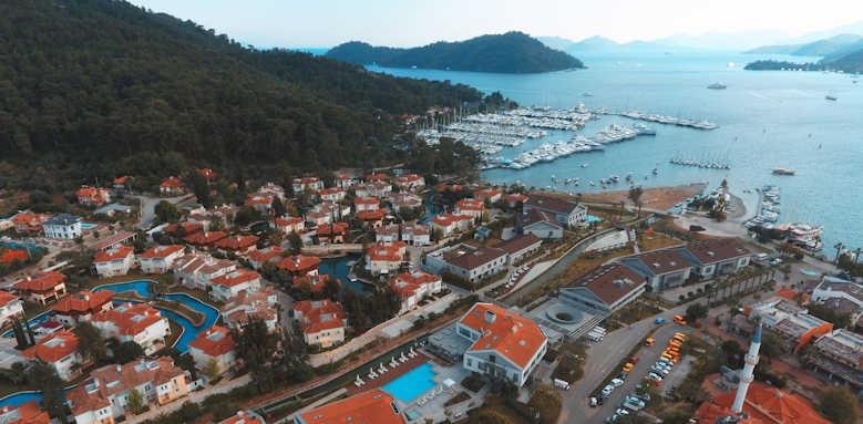 D Hotel Gocek, aerial view