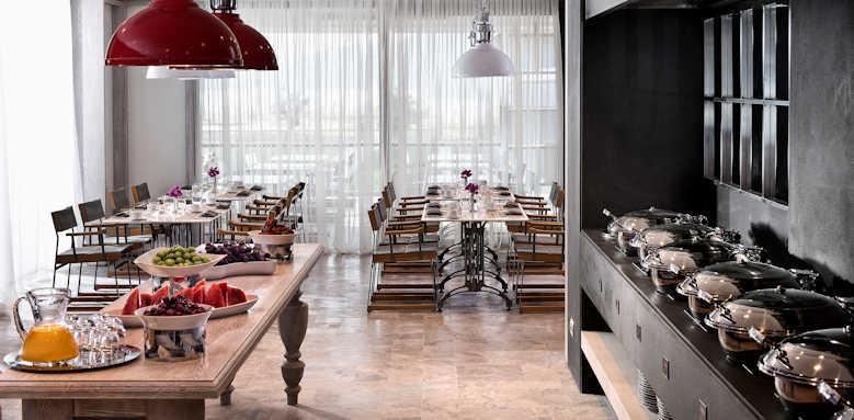 D Hotel Gocek, Olive tree restaurant