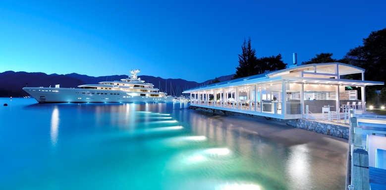 D Hotel Gocek, the breeze at night