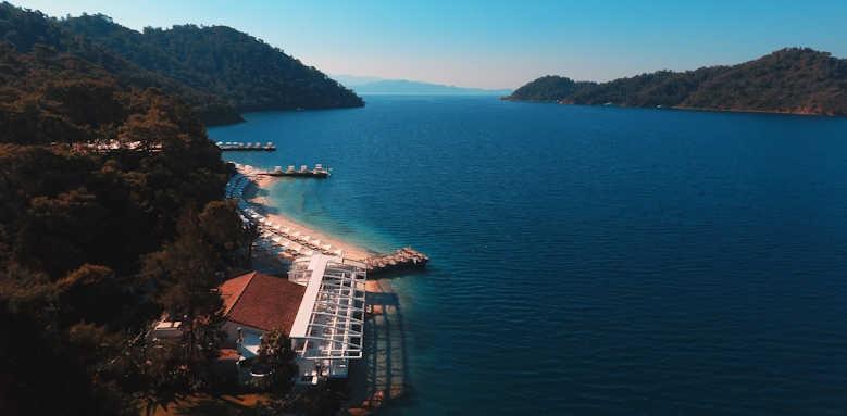 D-Resort Gocek, pool and exterior