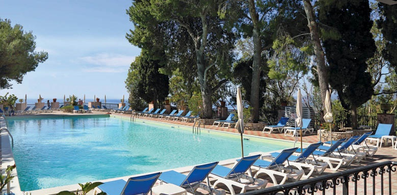 Excelsior Palace Hotel, pool view
