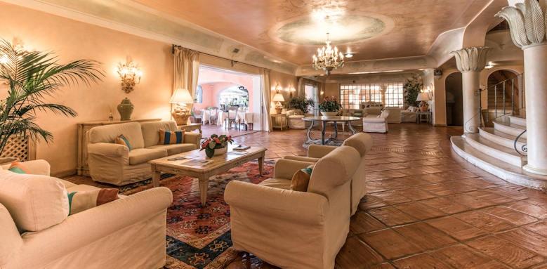Hotel Le Palme, lounge area