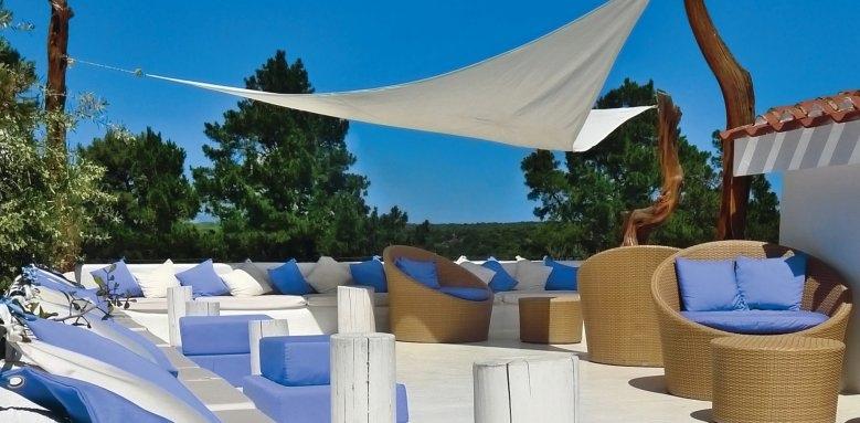 Hotel Su Gologone, terrace of dreams