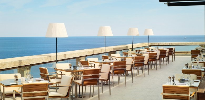 Fairmont Monte Carlo, horizon terrace