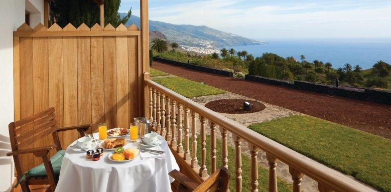 Parador de La Palma, balcony view
