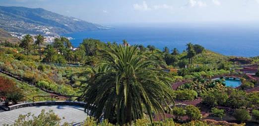 Parador de la Palma, gardens