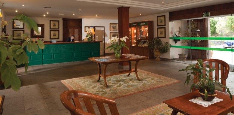 Parador de La Palma, lobby