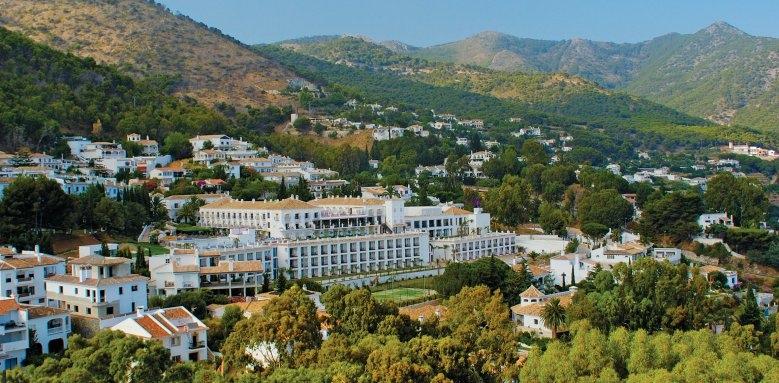 Hotel Mijas, aerial view