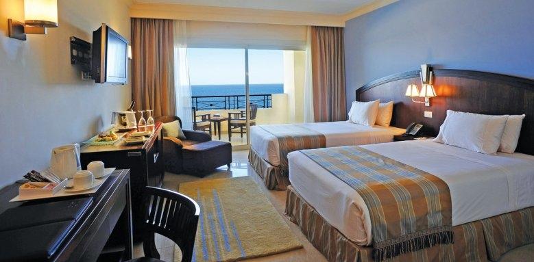 Stella Di Mare Beach Hotel & Spa, deluxe twin room sea view