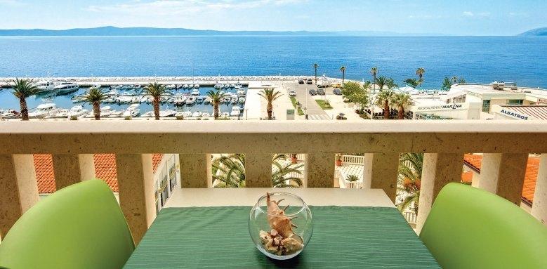 Hotel Laurentum, view
