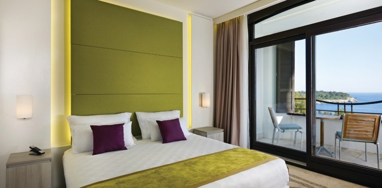 Park Plaza Histria, double room sea view