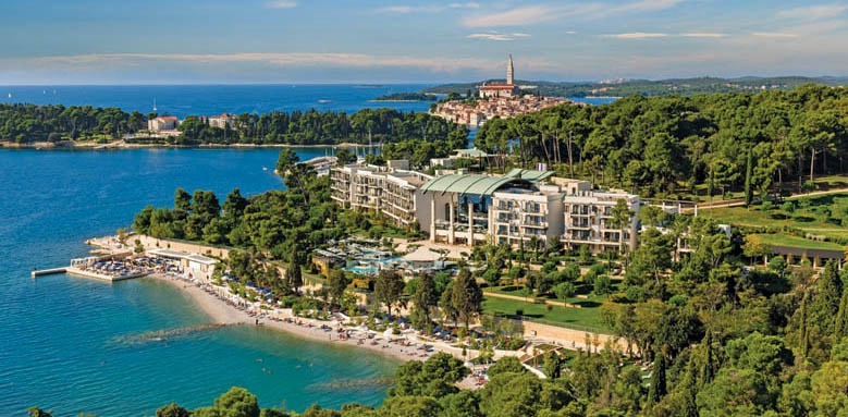 Hotel Monte Mulini, aerial view
