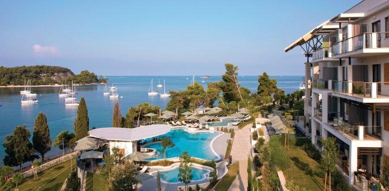 Hotel Monte Mulini, exterior & pool