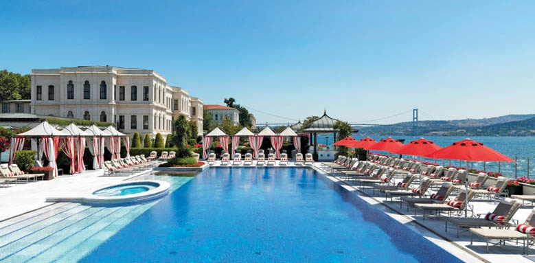 Four Seasons Hotel Istanbul at The Bosphorus, pool view