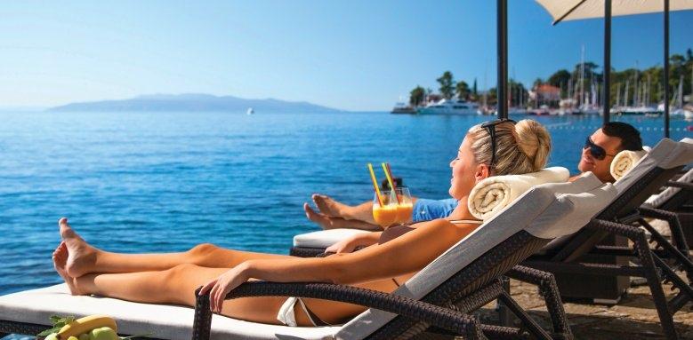 Ambasador Remisens Premium Hotel, beach view
