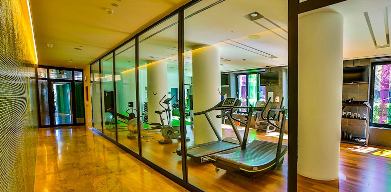bohemia suite and spa, gym