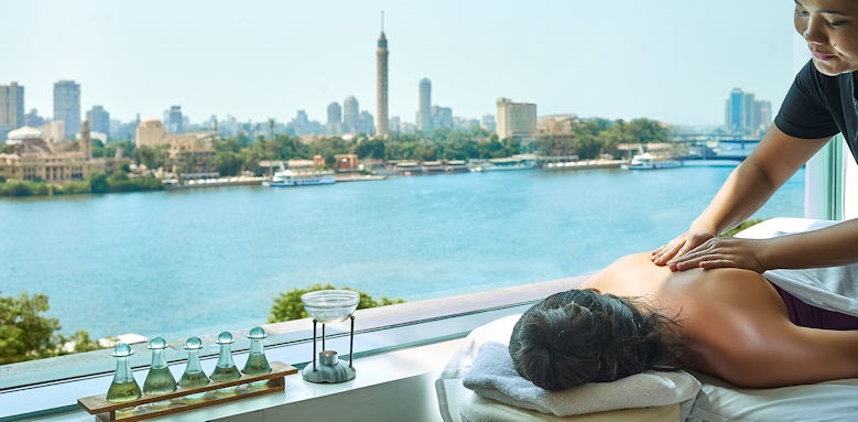 four seasons nile plaza, massage