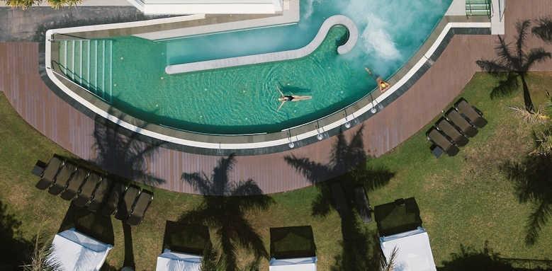 Hotel Costa Calero, aerial view of spa