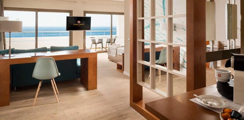 Hotel Costa Calero, double room distant ocean view