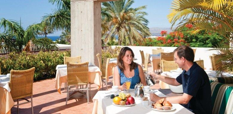 Hotel Costa Calero, terrace