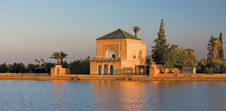 fours seasons marrakech, menara gardens